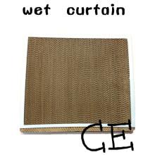Части воздушного охлаждения мокрых штор