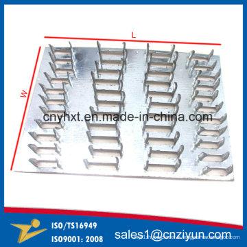 Double joint de plaque à ongles en acier galvanisé