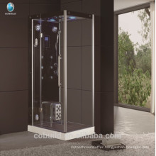 K-709 square head shower enclosed steam shower room hinge opening steam room