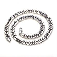 Collar de cadena de la joyería del rodio de la serie Cool Gentleman de la manera para el día del padre Gift-40245