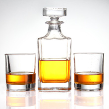 Creative Decanter Glass Bottle with Lid, Brandy Glass Bottle