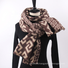 Hot Selling Popular Letter C Pattern Office Ladies Shawl Women Winter Outdoor Fashion Warm Cashmere Wraps Scarves