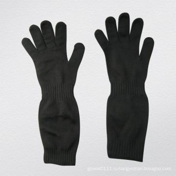 Стальной проволоки двойной слой Анти-вырезать перчатка для сахарной промышленности-2358