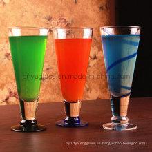 Ecológico amigable sin plomo Copa de jugo de bebidas de agua, vino, cerveza, Milkshakes