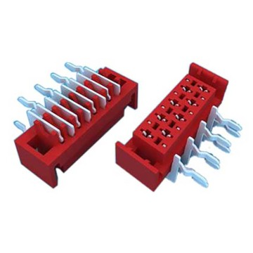 1,27 mm Micro Match Socket 90 ° DIP