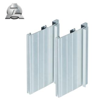 6000 series silver anodized aluminum exterior door threshold