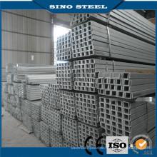 Niedriger Preis geschweißte Stahlprofilkonstruktion Frau Vierkantrohr