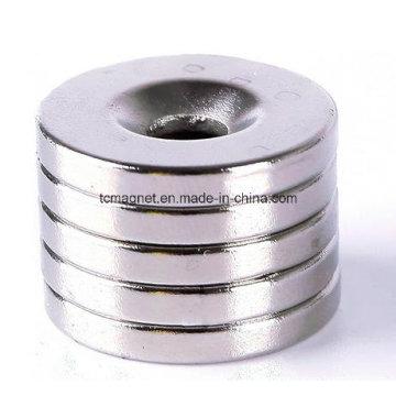 20mm X3mm Buraco 5mm Anel Ímãs de Neodímio Forte de Terra Rara