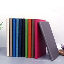 Factory prices custom logo PU leather notebook wholesale blank journals