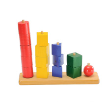 Wooden Block Toy Chess Game (CB1056)