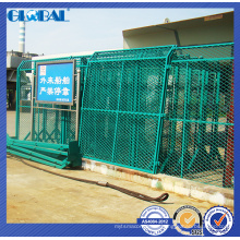 Venta caliente personalizada cerca de alambre para patio / taller sistema de cerca aislado