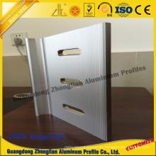 Perfil de extrusión de aluminio con perfil de mecanizado de procesamiento profundo de CNC