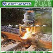 Rail aluminum thermit welding machine