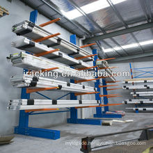 China Nanjing Jracking Pipe & Lumber Apple Green Cantilever Racking