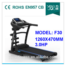 NOUVEAU tapis roulant à la maison, équipement de forme physique, tapis roulant motorisé (F30)