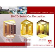 Aufzugskabine mit Spiegel St. St Vault Panel (SN-CD-101)