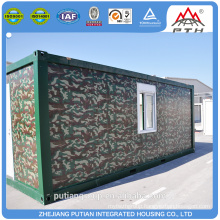TUV, SGS, BV,CE certificated 20ft Living container homes
