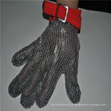 Luva de segurança de fio de aço inoxidável acessório resistente ao corte