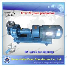 Pompe de transfert d'huile de carburant série RY Pompe d'huile chaude