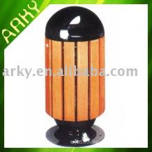 Baril de jardin en bois extérieur de bonne qualité