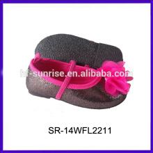 Los cabritos de los zapatos de bebé de SR-14CFL018 empaquetan al por mayor los zapatos de los cabritos de China de los cabritos fabricantes China