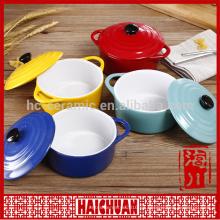 Hornee la placa, placa de hornear de cerámica, placa de hornear stock de cerámica precio barato venta entera