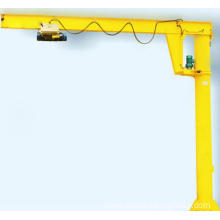 Workshop Used Floor Mounted Electric Hoist Jib Crane