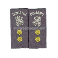 Epaulette avec OEM ou ODM Design Military Army Patch