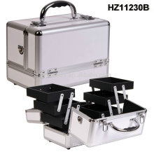 portable makeup case aluminum with trays inside HZ11230B