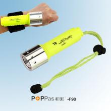 10W / 300lumens Lanterna elétrica do mergulho do mergulho do CREE T6 (POPPAS-F98)
