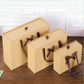Brown Kraft Paper Gift Boxes