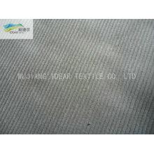 14W 99.2%Cotton 0.8%Spandex Weft Elastic Stripe Corduroy Fabric 315GSM
