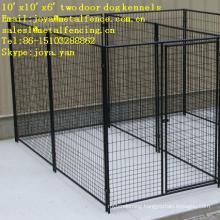 10'x10'x6' two doors moduler design medium and big dog runs
