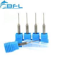 BFL-Tungsten Carbide Dental Process Long Neck Short Flute End Mills/Carbide Dental Cutting Tool