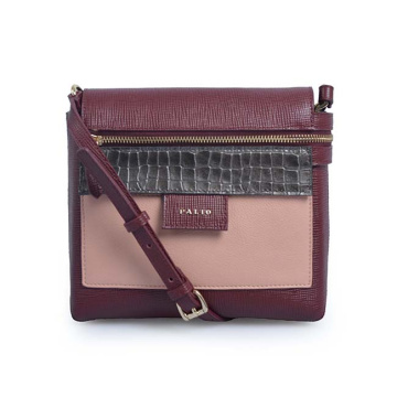 Frye Zip Leather Crossbody Bag Femme Sacs à main de voyage