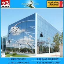 2-19mm CE & SGS flach gebogenes gebogenes Gebäude Glas Bau Glas
