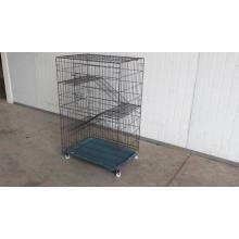 ЭКО-Дружественных Домашнее Животное Кот Клетка Крытый Кошки Домик Для Душ