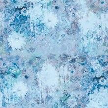 Custom Digital Printed Silk Chiffon Fabric (XF-0092)