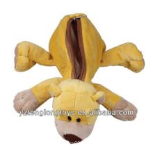 Los juguetes de los cabritos peluche la caja de lápiz animal del nici
