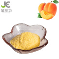 Pó liofilizado de pêssego amarelo de alta qualidade