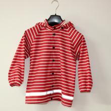 Красная полоса отражает пу дождя куртку/плащи