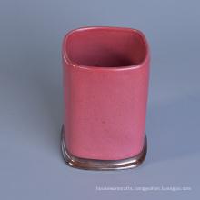 Wholesale Glaze Ceramic Jar Candle Holder