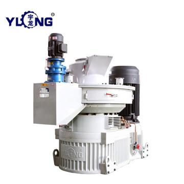 Máquina de moinhos de pellets de madeira vertical XGJ560