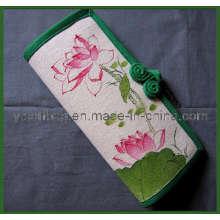 Die Tasche der Chinoiserie Canvas Geldbörse (YSWB00-0003)