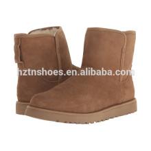2016 Hot Boot venda de trabalho para as senhoras das mulheres simples botas de inverno estilo