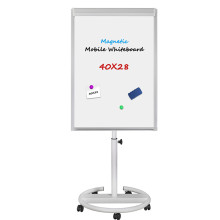 Office stationery flipchart mobile easel whiteboard