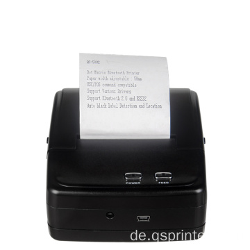 "2 ""Mini Bluetooth tragbarer mobiler Nadeldrucker"