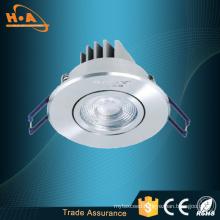 COB 3W Flat Cable Car Aluminum LED Ceiling Lamp