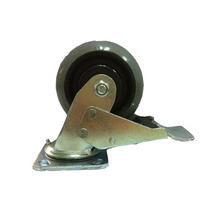 Type de frein double type à double roulement Type de frein Hi-Tech Roulette en caoutchouc