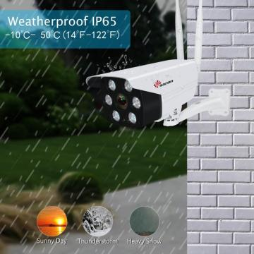 Telecamera di sicurezza 1080P Floodlight wireless